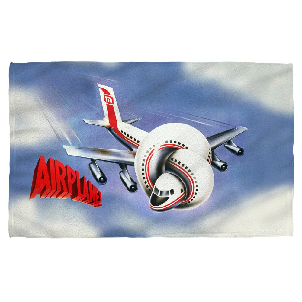 Airplane - Postet Beach Towel 57 x 36in