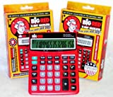 2-pack Big Red Calculator
