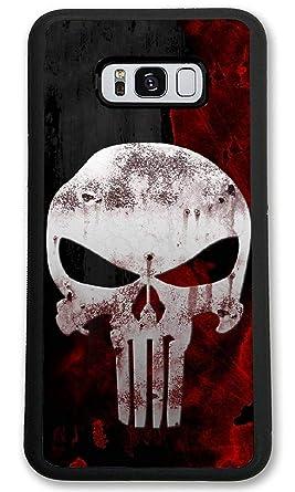 Amazon Com Custom Samsung Galaxy S8 Cases Skull Wallpaper Hard