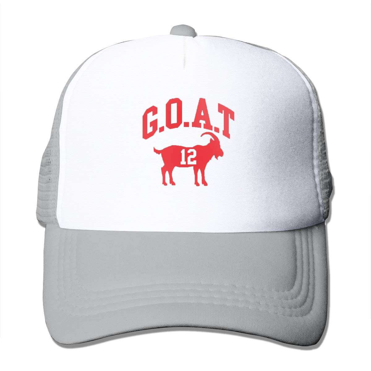 Mens Adjustable Fashion Mesh Hat Football Goat Greatest Of 12 Baseball Caps One Size Fits Most