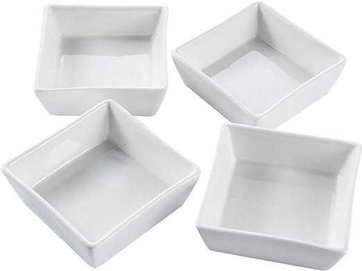 color blanco Estilo japon/és juego de sushi para 2/de cer/ámica cuadrado
