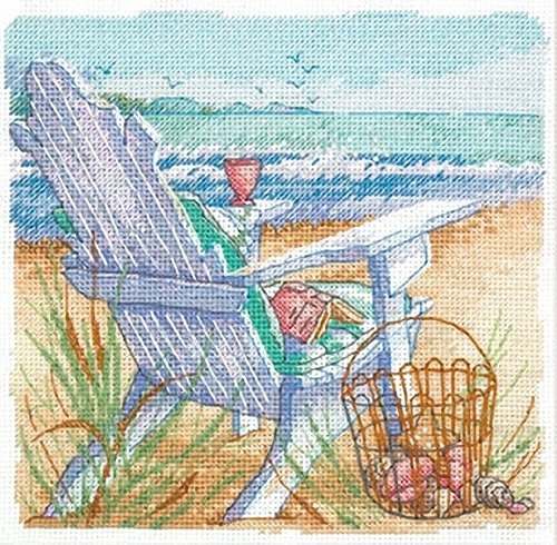Dimensions Needlecrafts Counted Cross Stitch, Tide View