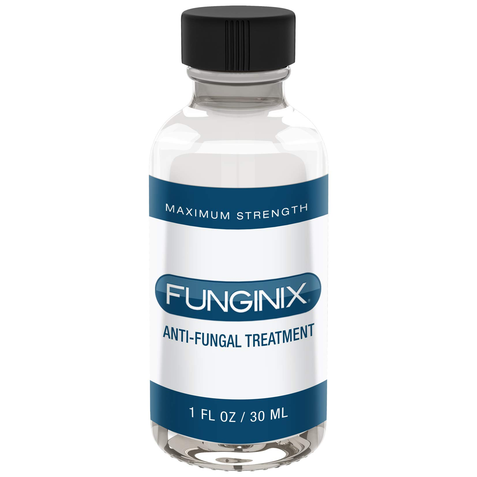 FUNGINIX Finger and Toe Fungus Treatment - Maximum Strength Anti-Fungal Solution, Eliminate Fungal Infections, Powerful & Effective (1 Fluid Ounce) by FUNGINIX