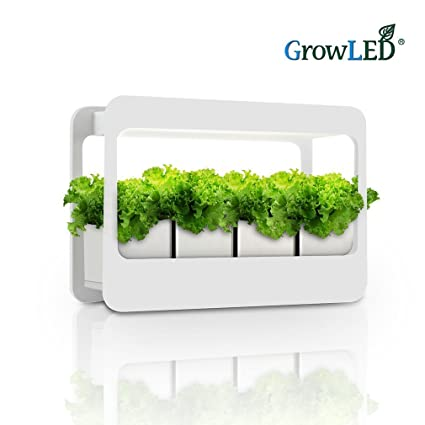 Amazon growled plant grow light led indoor garden light growled plant grow light led indoor garden light kitchen garden with timer function 24v workwithnaturefo