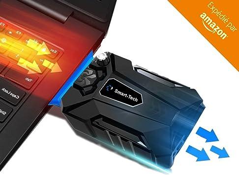 Refrigerador para ordenador portátil, ideal para videojuegos-USB ...