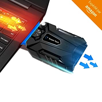 Adviteck Wind 2018 Refroidisseur Pc Portable Gamer Le Plus