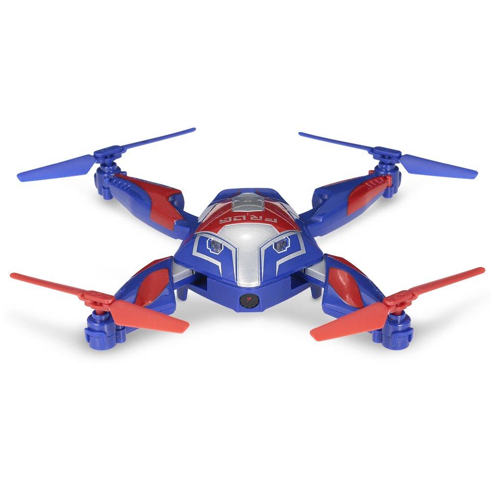 goolsky Cheerson CX 0.3 MPカメラWiFi FPV折りたたみ式Frog Drone Altitude Holdオプティカルフローセンサープログラム可能な自撮りクアッドコプター B07B96KXBK