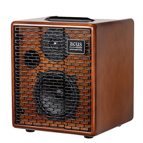 Acus Sound Engineering 03000501 OneforStrings 5 Acoustic Guitar Amplifier - Wood by Acus Sound Engineering