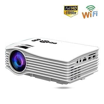 Proyector portátil, Proyector de video Proyector LED portátil para ...