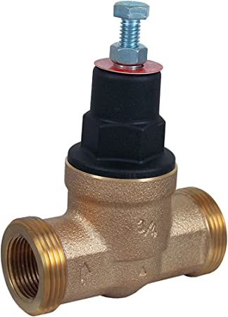 Lead Free Cash Acme 23885-0045 Eb45-Du 3//4-Inch Double Union Threaded Pressure Regulating Valve