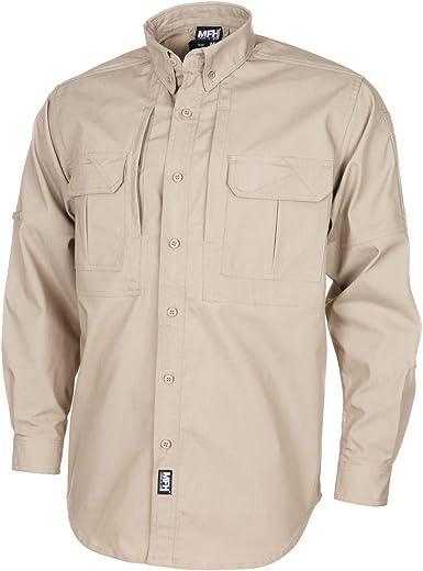 MFH Camisa de Manga Larga táctica de Estados Unidos, Hombres, Ataque: Amazon.es: Ropa y accesorios