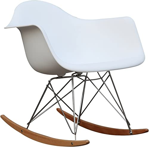 Fine Mod Imports Home Indoor Patio Rocker Arm Chair - the best outdoor rocking chair for the money