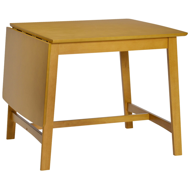 タマリビング ダイニングテーブル ナチュラル バタフライテーブル 幅80~125cm フラン 50003317 B07FBLLP2Dナチュラル