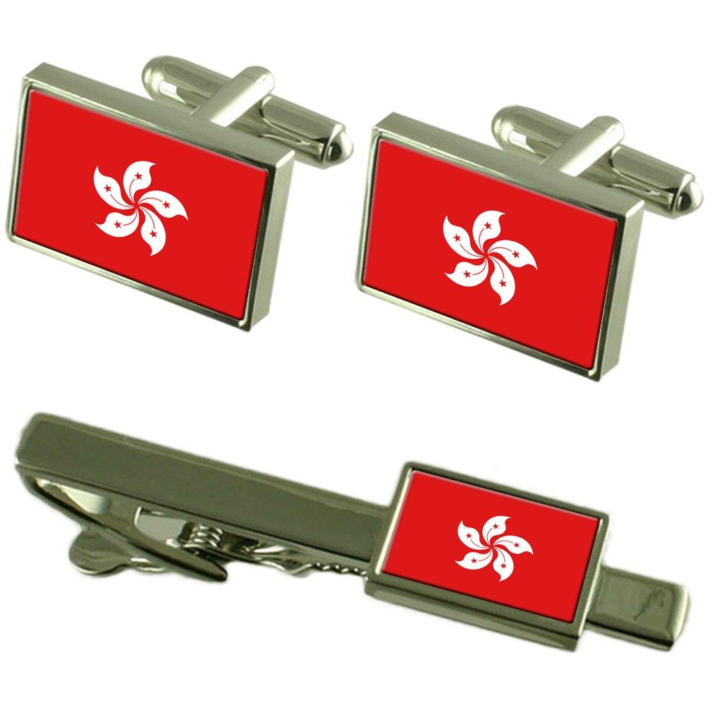 Select Gifts RAE de Hong Kong Bandera Gemelos Clip de Corbata ...