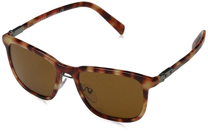 Prada Hombre 0PR17QS 4BW1X1 52 Gafas de sol, Marrón (Light ...