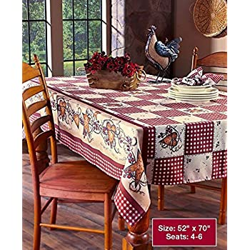 Perfect Linda Spivey Kitchen Decor Table Cloth Linens Primitive Country Hearts  Stars TableCloth Or Napkins Kitchen Collection