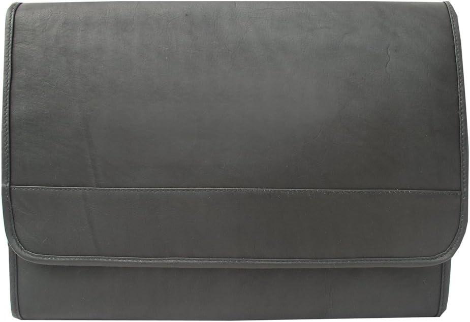 Piel Leather Envelope Portfolio, Black, One Size