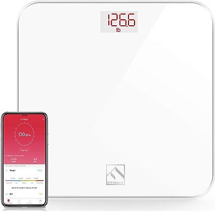 Amazon.com: Báscula digital de baño con peso corporal ...