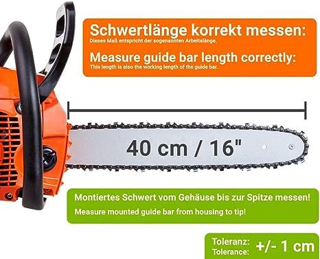 """Schwert passend für Jonsered 2234 40cm 3//8/"""" 56TG 1,3mm Führungsschiene guide bar"""