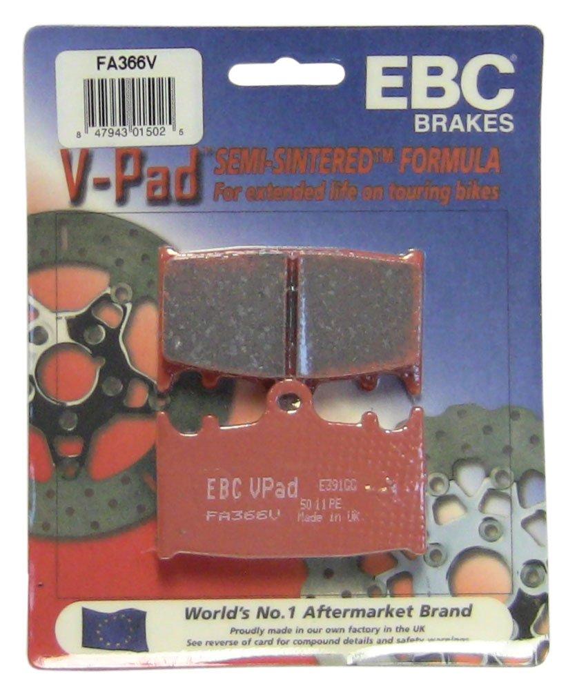 EBC Brakes FA366V Semi Sintered Disc Brake Pad