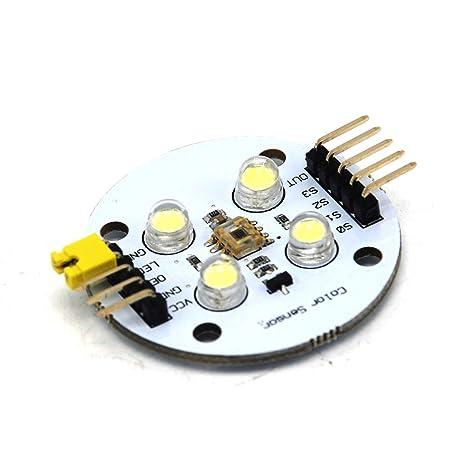 TCS3200D color Reconocimiento Sensor Detector módulo 3 – 5 V para MCU/avr arduino
