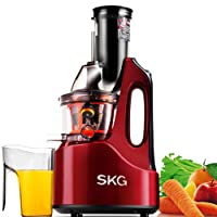 SKG ELECTRIC LLC Wide Chute Anti-Oxidation Slow Masticating Juicer