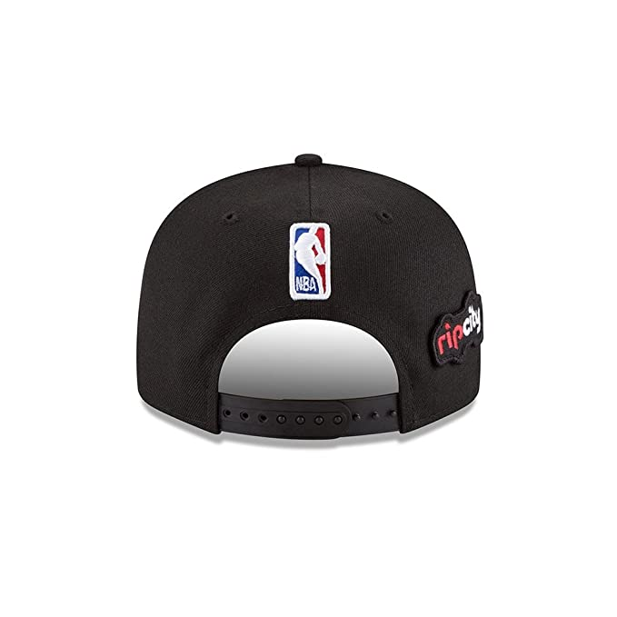 Amazon.com   New Era Portland Trail Blazers 2018 NBA Draft Cap 9FIFTY  Snapback Adjustable Hat- Black   Sports   Outdoors 638d3605e792
