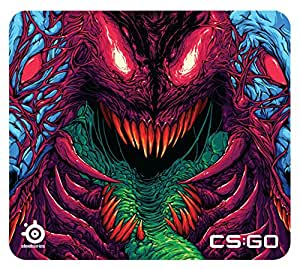 Steelseries QcK+ CS:GO Hyper Beast Edition Gaming Mouse Pad