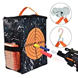 nerf bullet carrying bag - Target Pouch Storage Carry Equipment Bag for Nerf Guns Darts N strike Elite / Mega / Rival Series