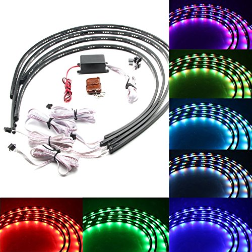 7 Color Led Underglow Lights in Florida - 2