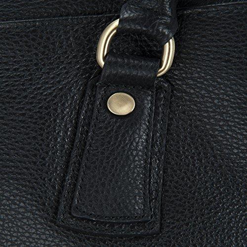 Zenga gd Noir Modèle cuir main femme à Sac gd nRx7CPwX0