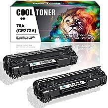 Cool Toner 2 Packs Compatible HP 78A CE278A Toner Cartridge For HP Laserjet P1606dn 1606dn HP Laserjet M1536dnf 1536dnf MFP HP Laserjet P1566 P1560 78A CE278A Toner Cartridge Printer Ink Black