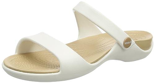 f39c9568166f Crocs Womens Cleo V Sandal  Amazon.com.au  Fashion