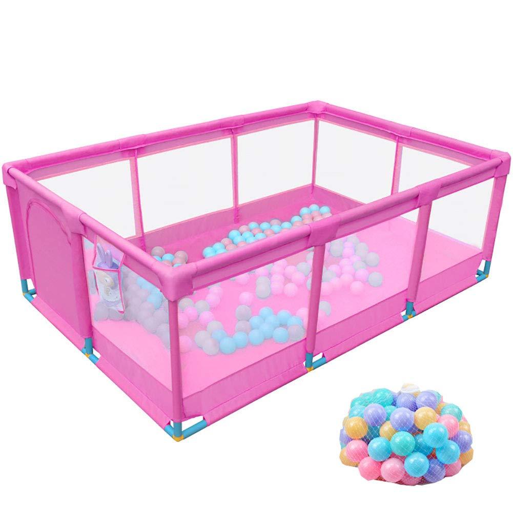 赤ちゃんの囲い 200ボール、子供と幼児のフェンス屋内ベビーセーフティ幼児、3色オプションの大ベビープレイペン (色 : Style1)  Style1 B07K5WQVM5
