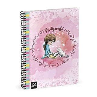 Busquets quaderno a5 80 Fogli Pretty by