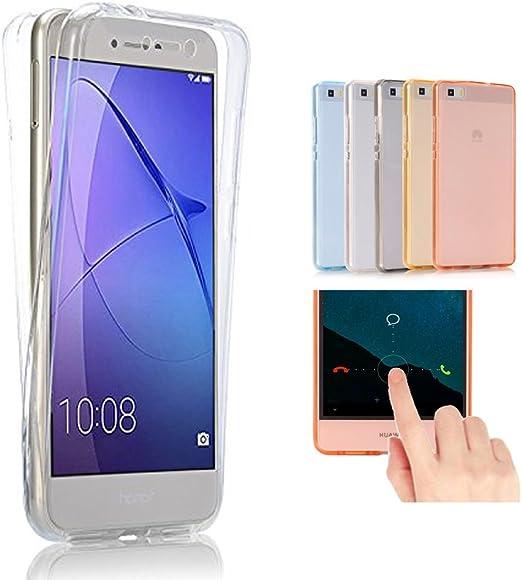 2ndSpring Funda para Huawei G8 / GX8,360 Grados Doble Delantera + ...