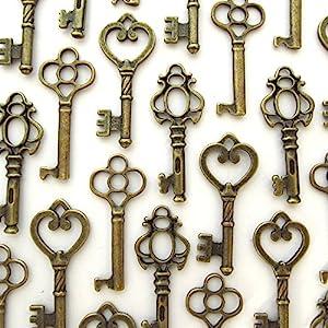 vintage style key set - photo #13