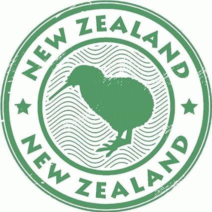 New zealand kiwi travel car bumper sticker decal 5quot