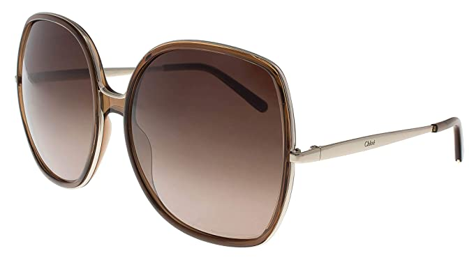 500c5afdd0d Chloe CE725S 210 62mm Brown Injected Sunglasses at Amazon Men s ...