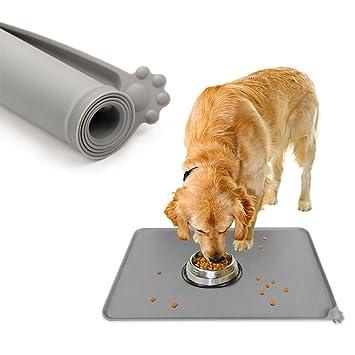 Jinzhao Mantel Individual-Estera del Alimento para Gatos Impermeable del Perro del Silicón, FDA-Grade no Deslizante del Perro Que Alimenta el Mantel ...
