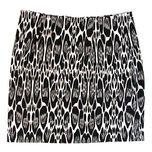 INC International Concepts Women's Plus Size Animal Print Pencil Skirt (3X, Oblong Leopard)