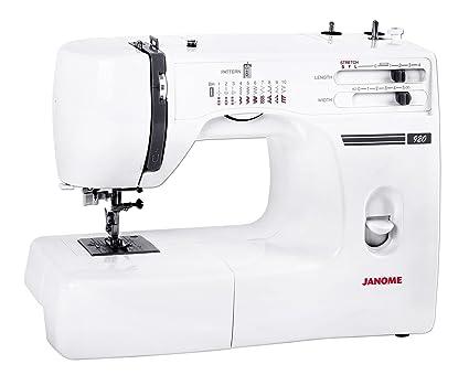 Máquina de coser Janome 920 incluye bonus-kit