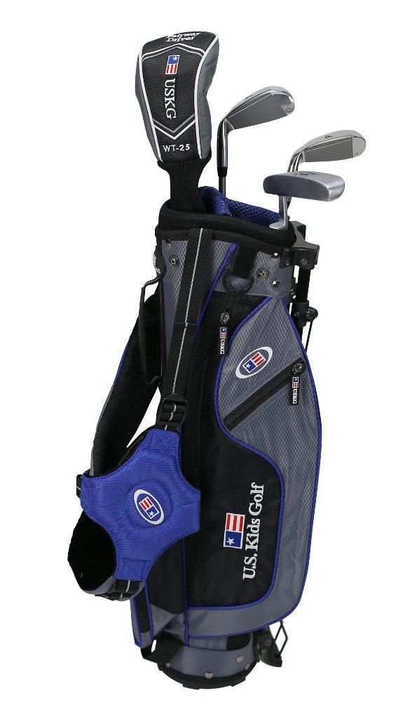 US kids Golf UL 45 Set Bolsa de Palos, Unisex niños, Azul, 5 ...