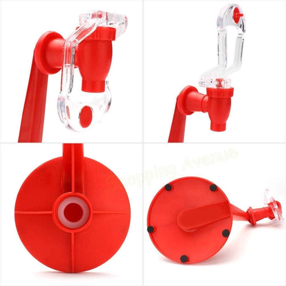 Gobbuy Portable Switch Drinker Hand Pressure Water Cola Bottle Inverted Water Drinking Fountain Dispenser