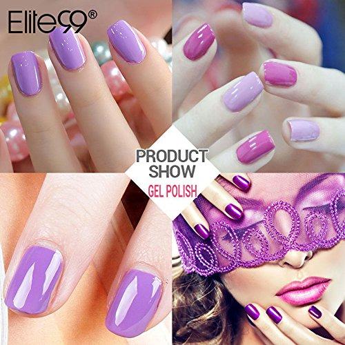 Gel Nail Polish Qatar: Elite99 Gel Nail Polish, Soak Off UV LED Gel Polish Nail