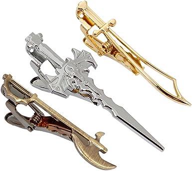 BMC hombres 3 unidades, color dorado, medieval armas-Pinza para ...