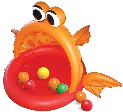 Amazon.com: Hedstrom pescado hinchable Bola Pit: Toys & Games