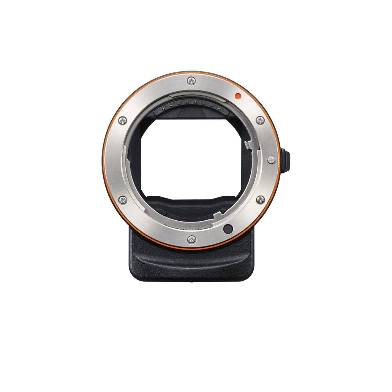 Sony LAEA3 - Adaptador para objetivos de cámaras (35 mm), negro ...