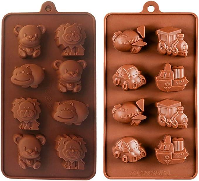 Chocolate Caramelo Jalea y Hielo Halloween silicona molde para hornear Molde de silicona Moldes de Silicona para Tartas