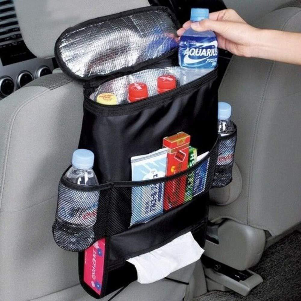 Bolsa nevera respaldo coche porta objetos organizador térmico ...